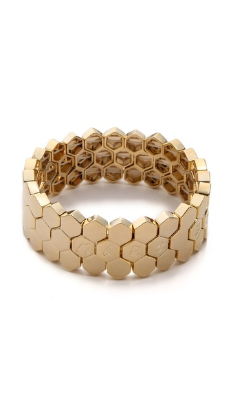 Marc by Marc Jacobs Gate Link Stretch Bracelet
