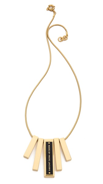 Marc by Marc Jacobs Sliding Bar Necklace
