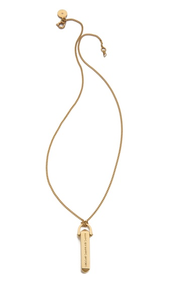 Marc by Marc Jacobs Bullet Pendant Necklace
