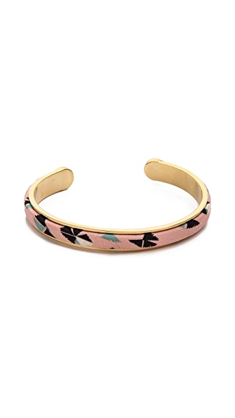 Marc by Marc Jacobs Fabric Cuff Bracelet