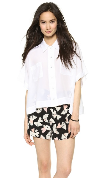 Marc by Marc Jacobs Frances Button Down Blouse