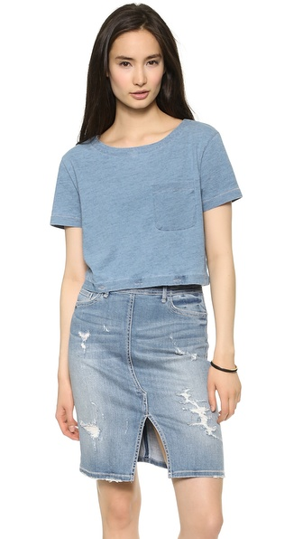 Marc by Marc Jacobs Yili Convertible Indigo Tee