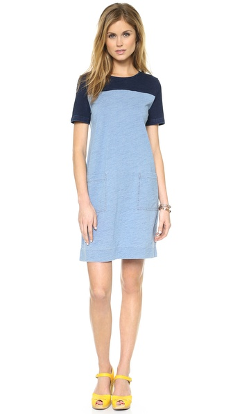 Marc by Marc Jacobs Yili Indigo Dress