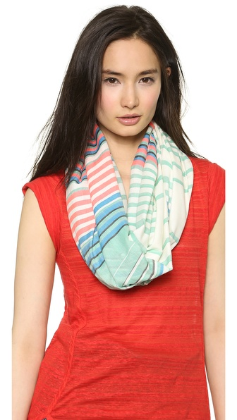 Marc by Marc Jacobs Paradise Stripe Yarn Dye Scarf