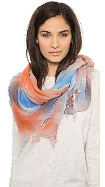 Marc by Marc Jacobs Spray Plaid Yarn Dye Scarf