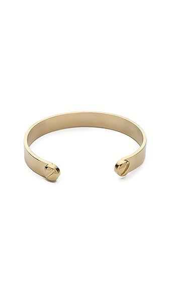 Marc by Marc Jacobs Metal Screw Cuff Bracelet