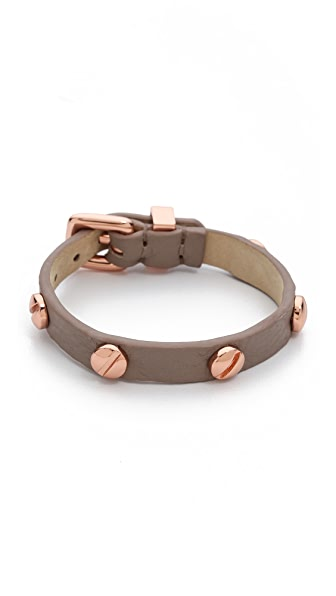 Marc by Marc Jacobs Screw Leather Bracelet