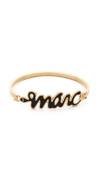 Marc by Marc Jacobs Snakey Marc Bangle Bracelet