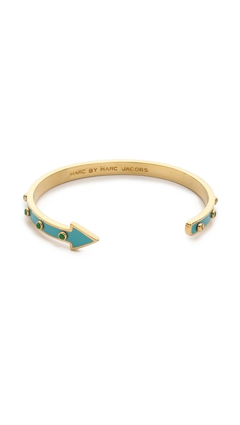 Marc by Marc Jacobs One Way Studded Bangle Bracelet