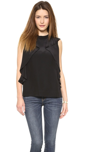 Marc by Marc Jacobs Frances Ruffle Blouse