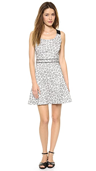 Marc by Marc Jacobs Heather Stretch Jacquard Dress