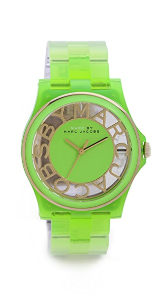 Marc by Marc Jacobs Henry Skeleton Gradient Watch
