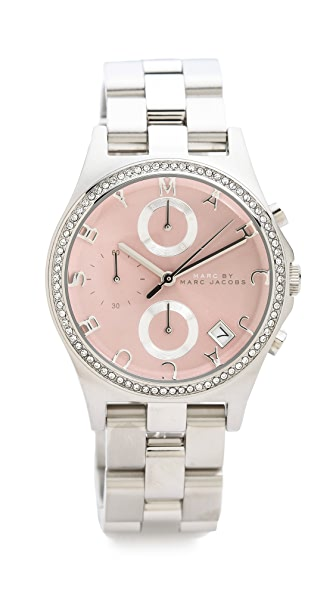 Marc by Marc Jacobs Henry Chrono Glitz Watch