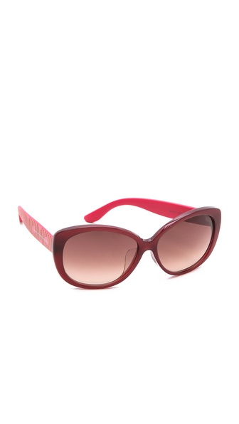 Marc by Marc Jacobs Special Fit Oval Sunglasses