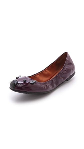 Marc by Marc Jacobs Patent Mouse Flats