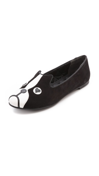 Shop Marc by Marc Jacobs online and buy Marc By Marc Jacobs Friends Of Mine Shorty Loafers Black online