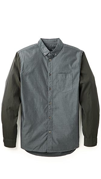 Marc by Marc Jacobs Colorblock Oxford Shirt