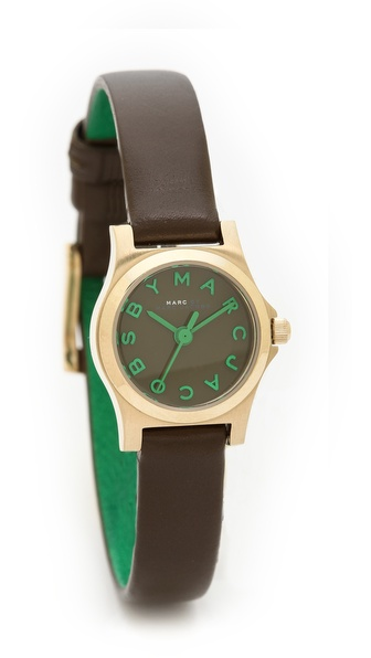 Marc by Marc Jacobs Henry Dinky Leather Watch