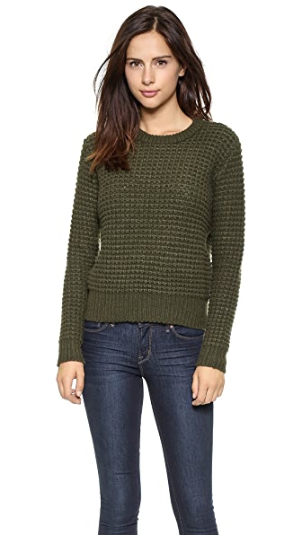 Marc By Marc Jacobs Walley Long Sleeve Sweater - New Olive Green