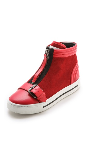 zipper sneakers