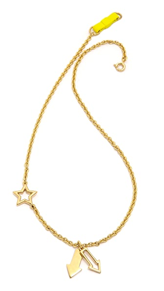 Marc by Marc Jacobs Pointing Bow Tie Necklace