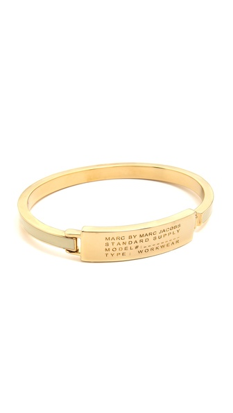 Marc by Marc Jacobs Standard Supply Fine Enamel Bangle Bracelet