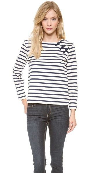 Marc by Marc Jacobs Jacquelyn Stripe Top