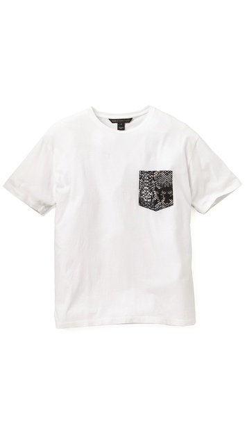 Marc by Marc Jacobs Rex Snake Pocket T-Shirt