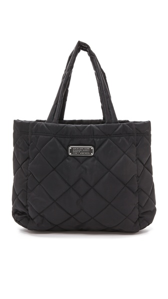 Marc By Marc Jacobs Crosby Quilt Small Tote - Black