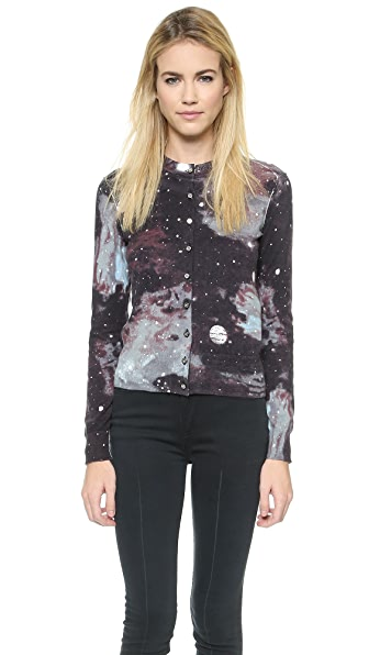 Marc By Marc Jacobs Stargazer Print Sweater - Black Multi