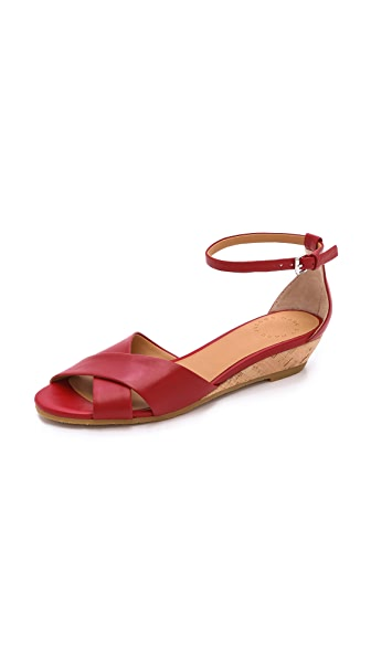 Marc By Marc Jacobs Marc By Marc Jacobs Seditionary Wedge Sandals (Red)