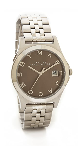 Marc By Marc Jacobs The Slim 30Mm Watch (Silver)