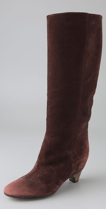 Maison Martin Margiela Suede Boots on Hidden Wedge