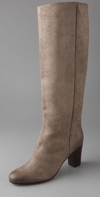 Maison Martin Margiela Replica Suede Slouch Boots