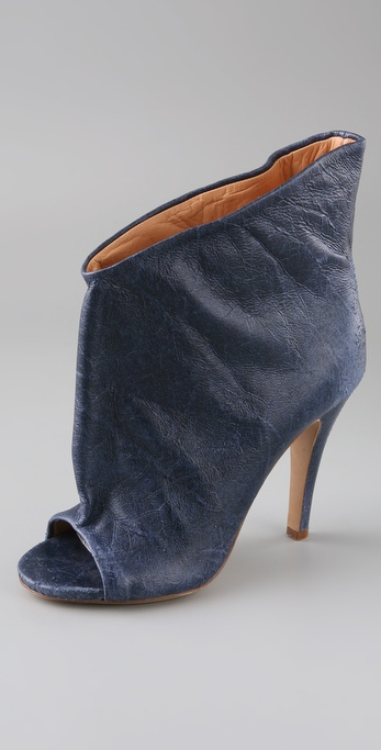 Maison Martin Margiela Distressed Slouch Booties