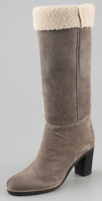 Maison Martin Margiela Shearling Shaft Boots