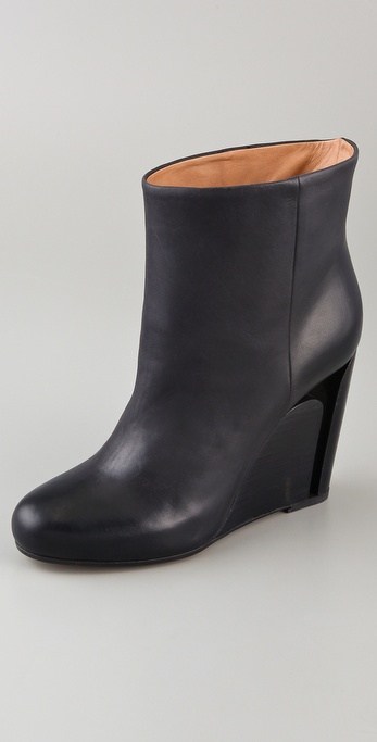 Maison Martin Margiela Cutout Wedge Booties