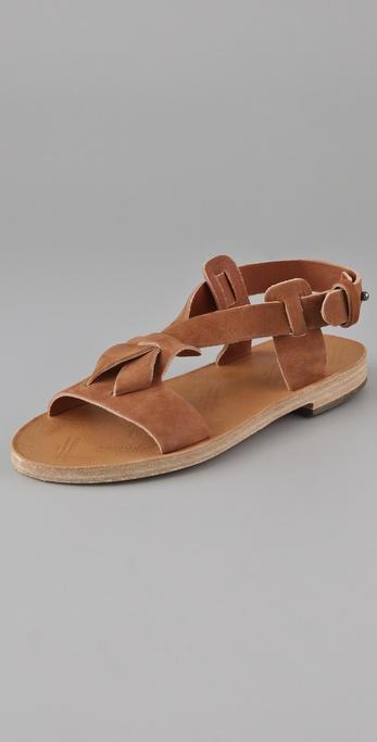 Maison Martin Margiela Flat Suede Sandals