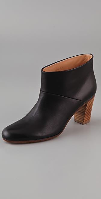 Maison Margiela Stacked Heel Booties