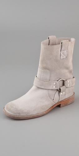 Maison Martin Margiela Motorcycle Ankle Boots