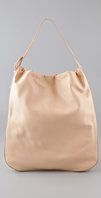 Maison Martin Margiela Leather Hobo Bag