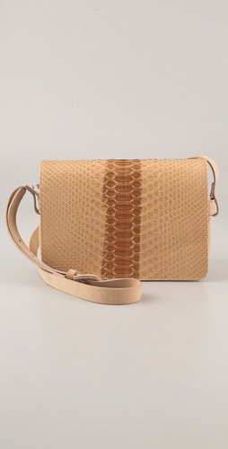 Maison Martin Margiela Python Cross Body Bag