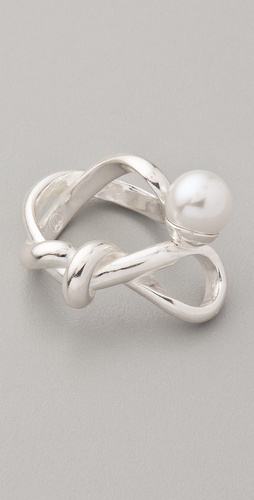 Maison Martin Margiela Pearl Twist Ring