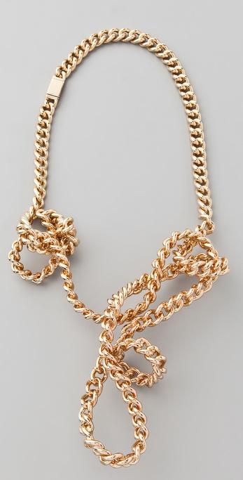 Maison Martin Margiela Twisted Necklace