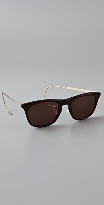 Maison Margiela Cable Temple Sunglasses