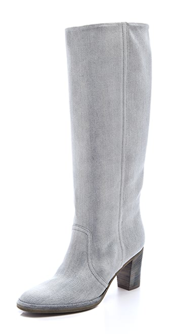 Maison Martin Margiela Denim Knee Boots