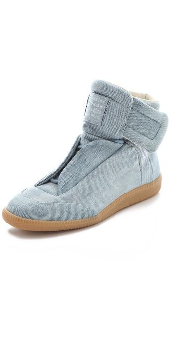 Maison Martin Margiela Denim Flat Sneakers