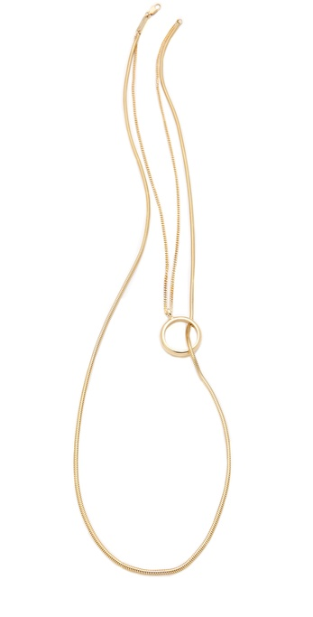 Maison Martin Margiela Double Layer Necklace