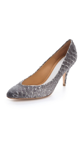 Maison Martin Margiela Faux Python Pumps