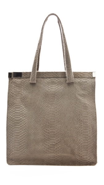 Maison Martin Margiela Zip Lock Haircalf Tote
